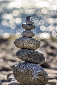 Image of stones, one on top of each other.
